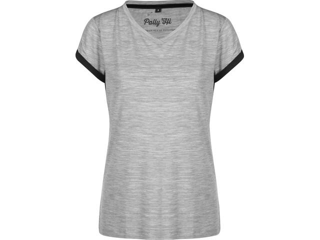 Pally'Hi Hike More T-shirt Damer, grey/bluek
